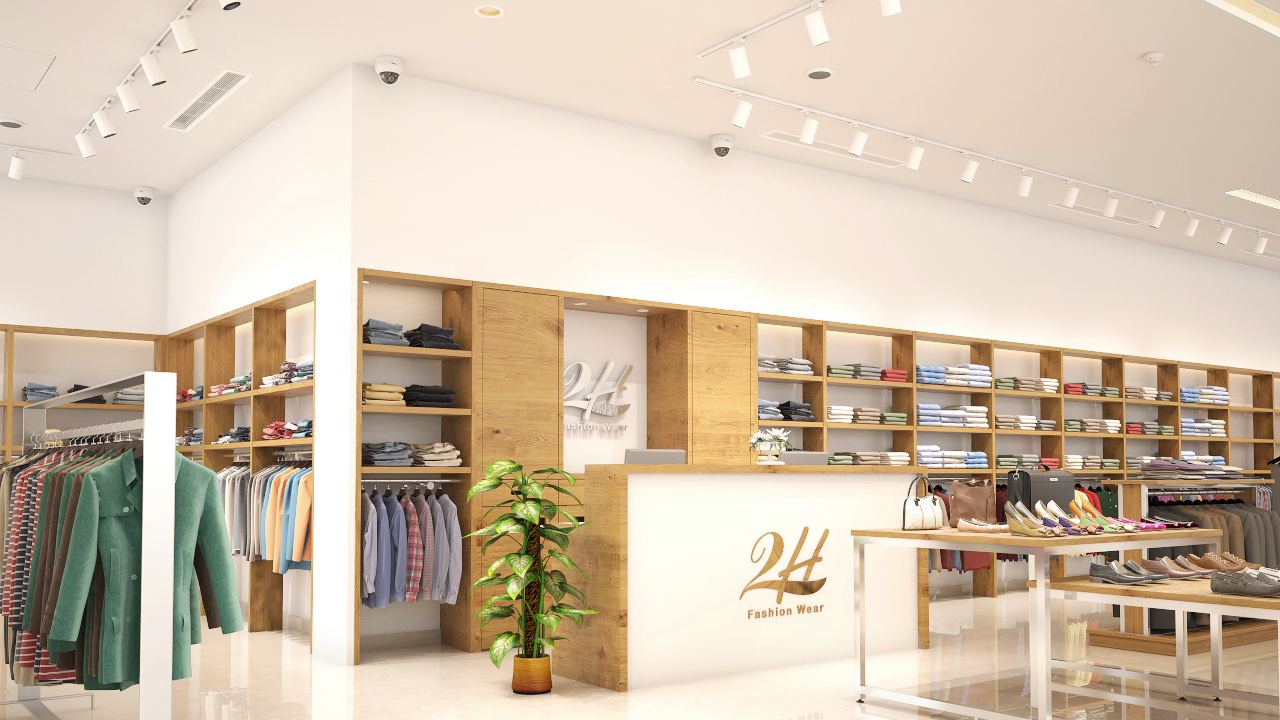 2H Stores - Centro Mall - Interior & MEPF Design & Visualization