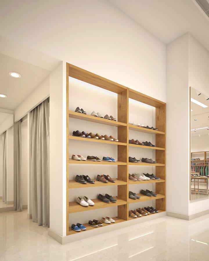 2H Stores - Centro Mall - Interior & MEPF Design & Visualization