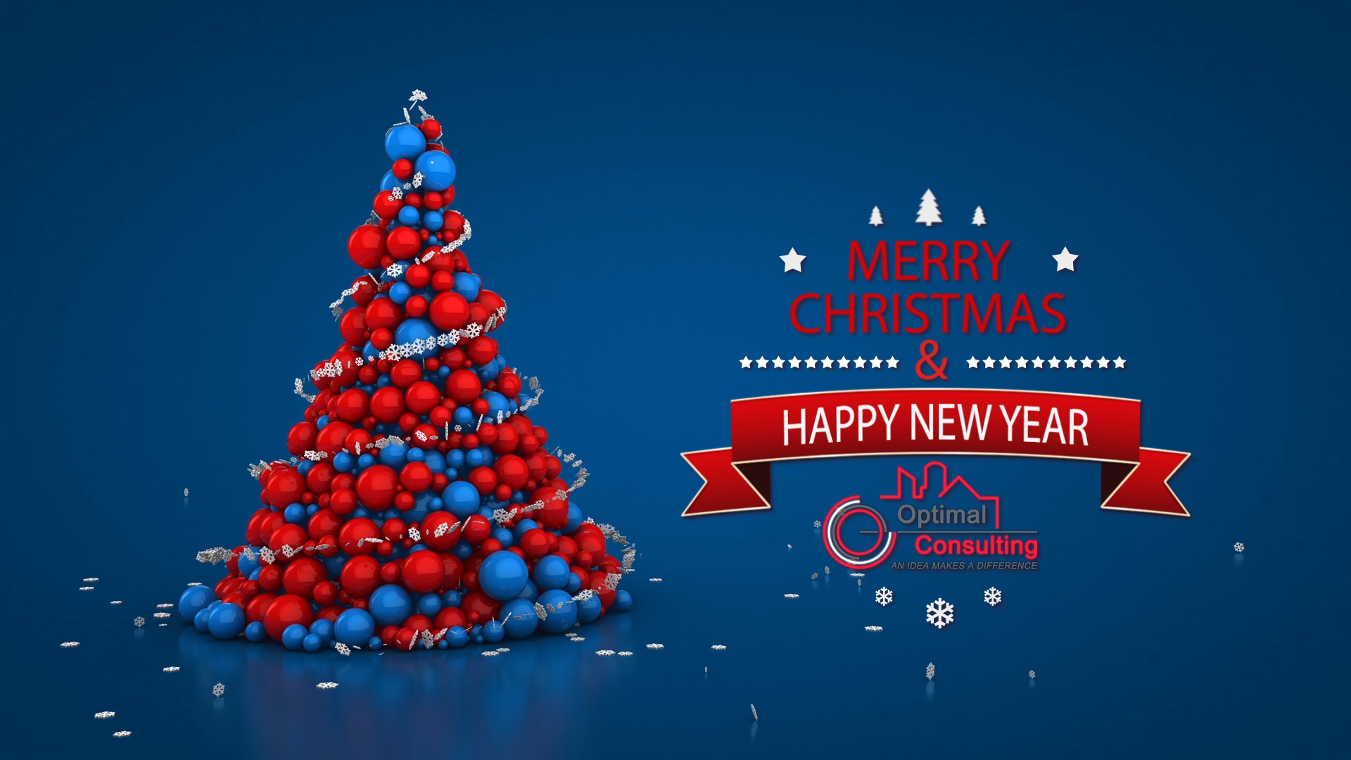 Christmas & New Year Animation for OPTIMAL Consulting Lebanon in 2015.