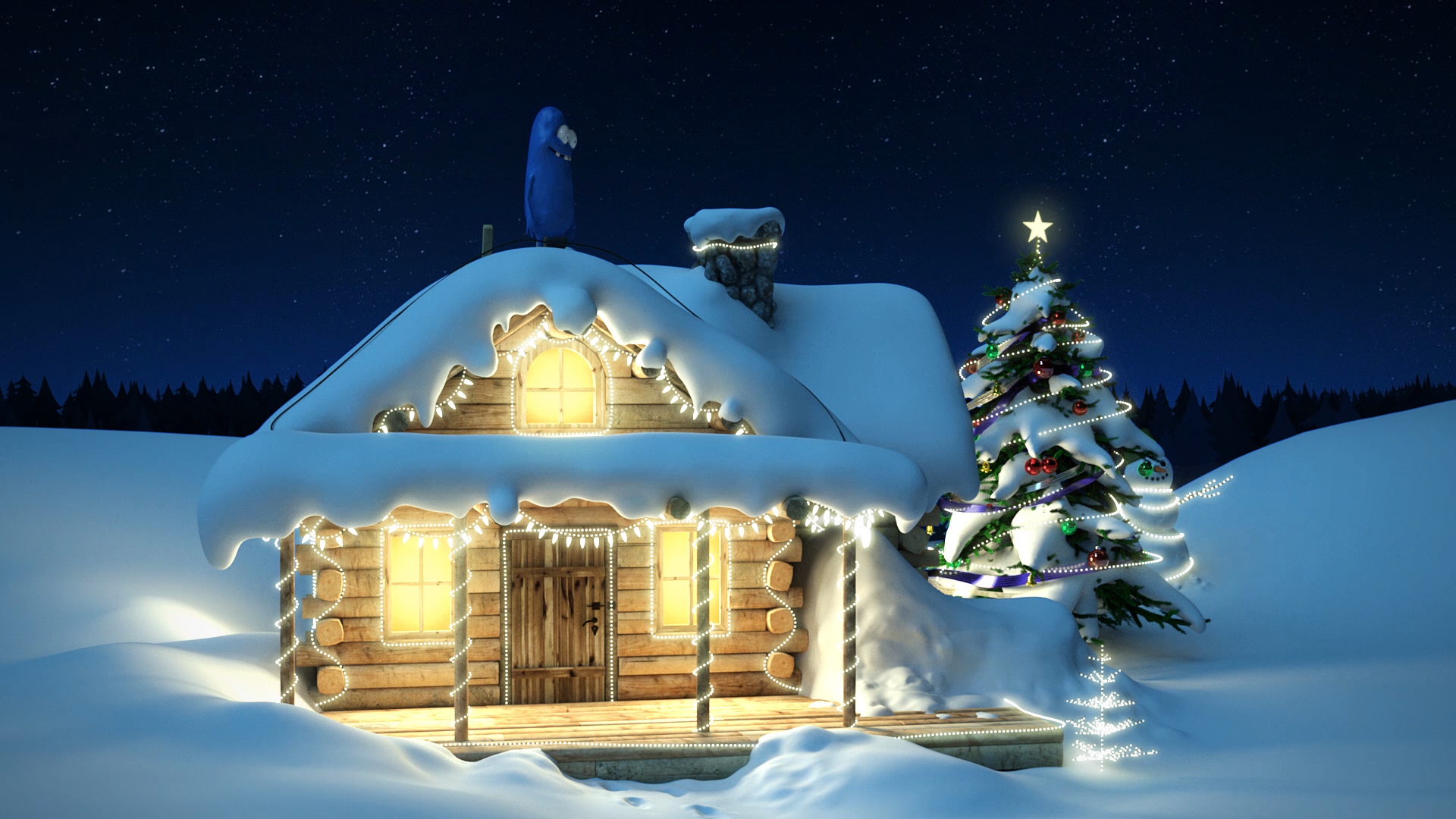 Christmas and New Year Animation for NCC Developers Lebanon in 2015.