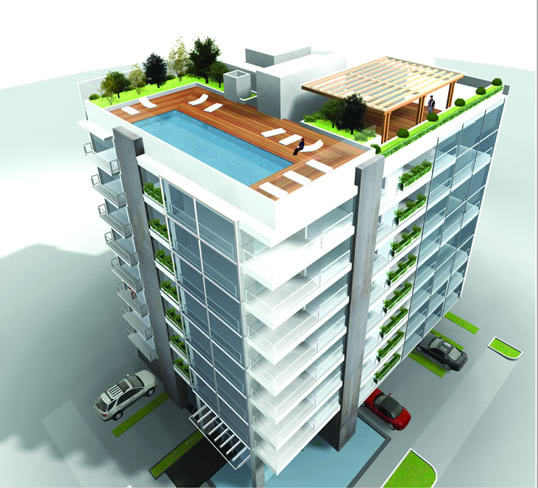 Architecture & Engineering Design & Visualizaion of Residential Building in Brazil.