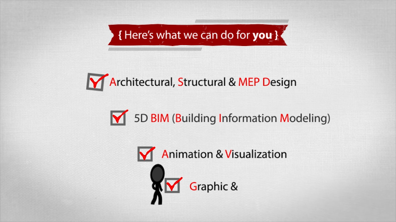 Video animation promotion for Optimal Consulting architecture & engineering design & visualization services in lebanon and worldwide.