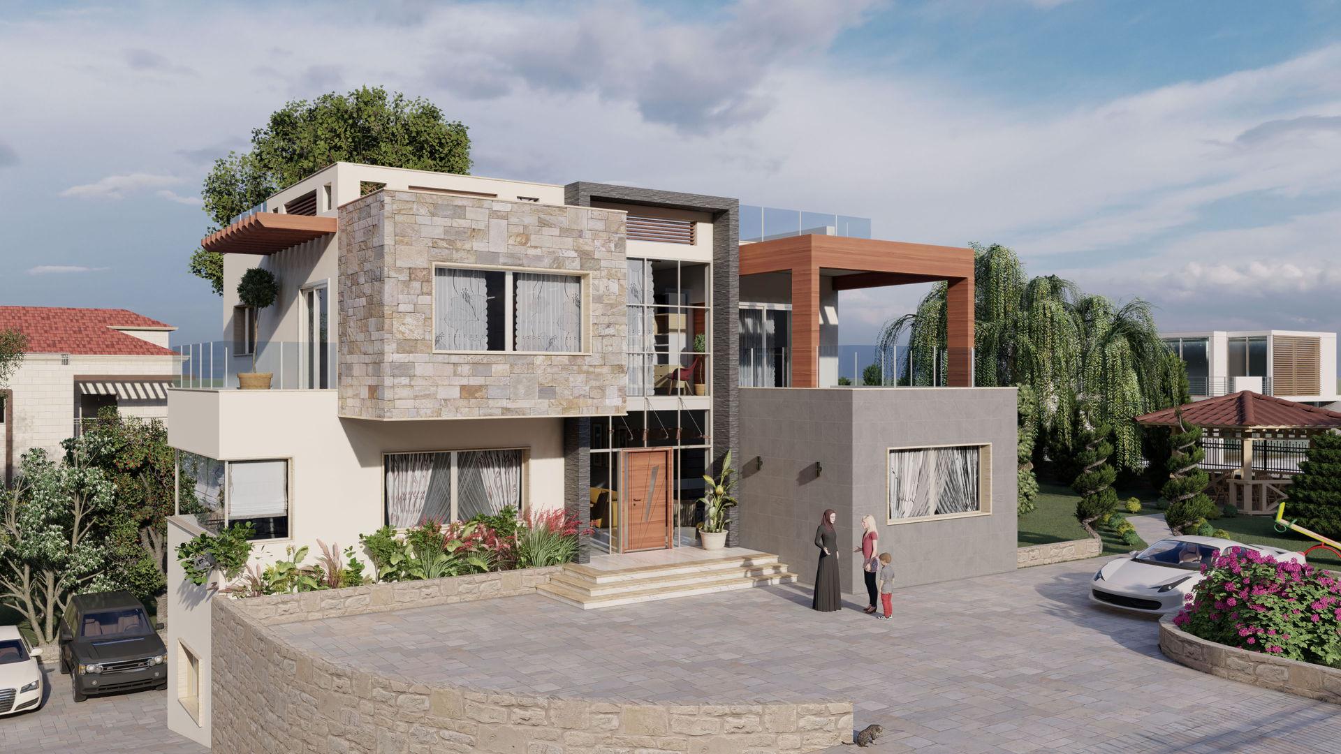 Mazeh Villa Design - Option 2