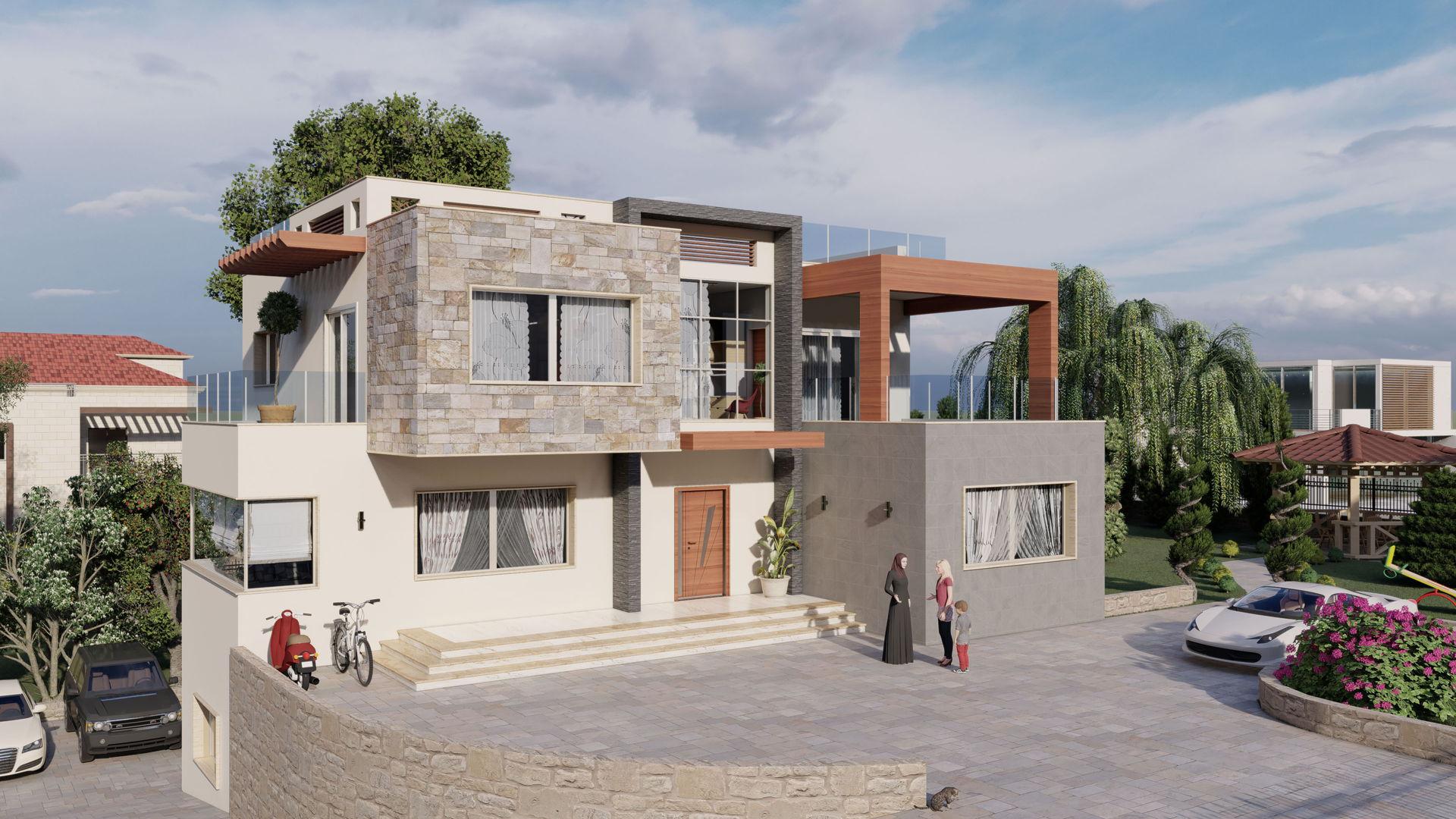 Mazeh Villa Design - Option 3