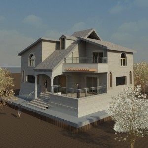 Mortafaa Villa - Architecture Design