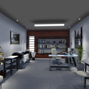 Architectural Office Interior Design & Animation