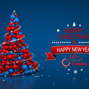 Christmas & New Year Animation - Optimal Consulting 2015