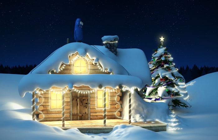 Christmas and New Year Animation NCC Developers 2015