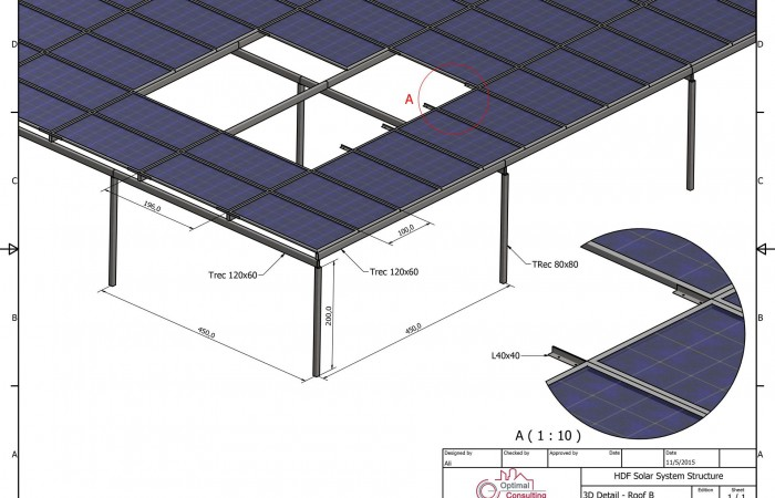 Hotel Due Solar System Steel Structure