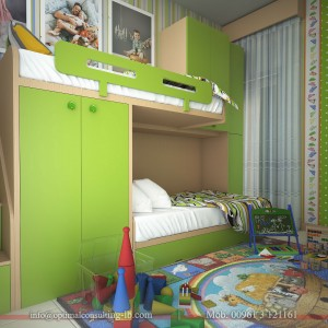 MNED Kid's Bedroom Interior Design