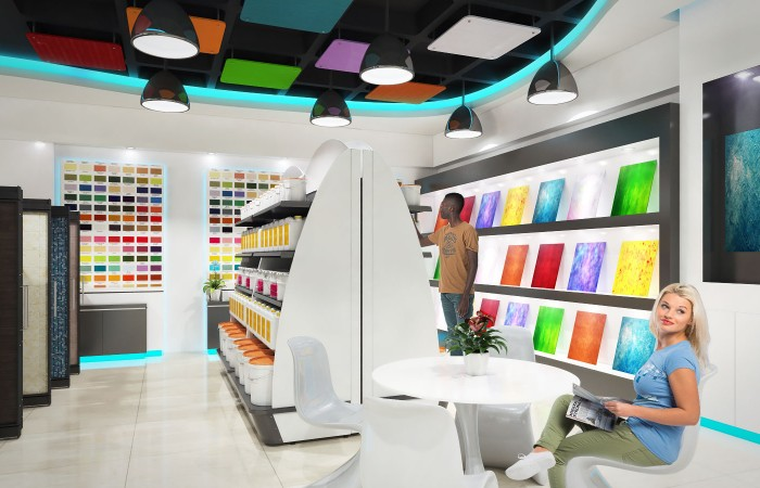 Most Showroom Interior Design