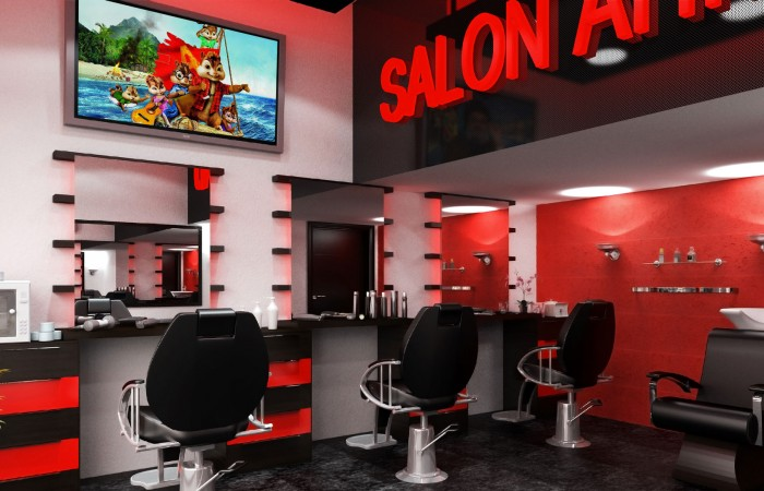Salon Ahmad - Barber shop - Interior Design