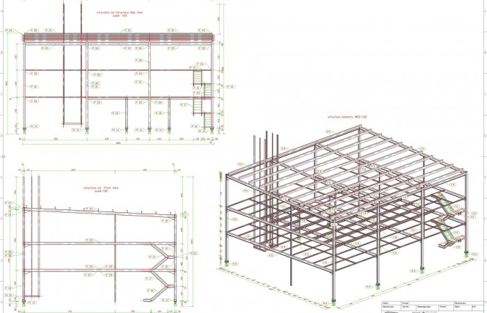 Vista Moda Multi-storey Wearhouse - Steel Structure