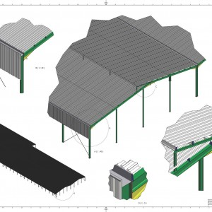 Kotono Wearhouse Hangar - Steel Structure
