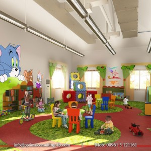 Sho2oun Nursery - Interior Design